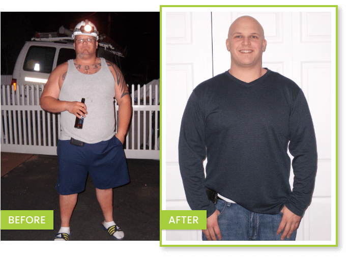 Weight loss Transformation – JOHN Before After Success Story