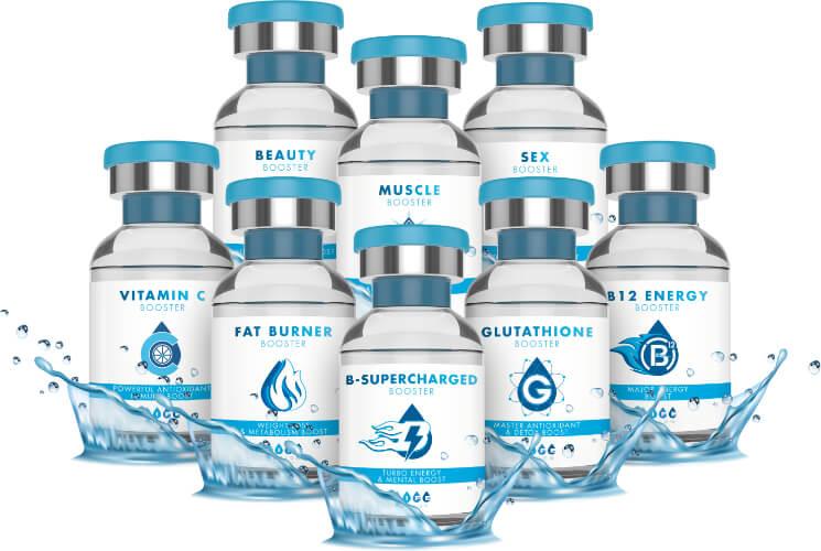 Inyecciones de Vitaminas El Mejor Secreto de Antienvejecimiento 1 Semana de Vitaminas en solo 1 inyección